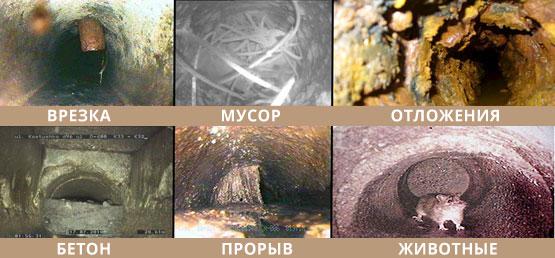 Видеодиагностика труб канализации в Екатеринбурге